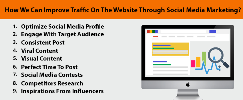 How We Can Improve Traffic On The Website Through Social Media Marketing?