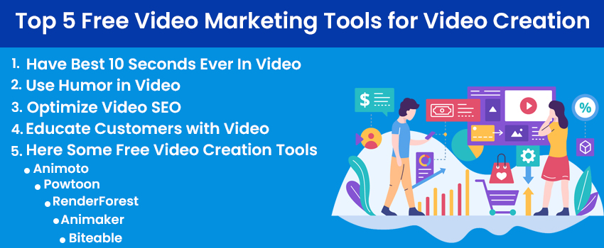 5 Top Free Video Marketing Tools for Video Creation